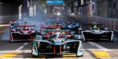 Visser test in Formule E in Saudi-Arabië
