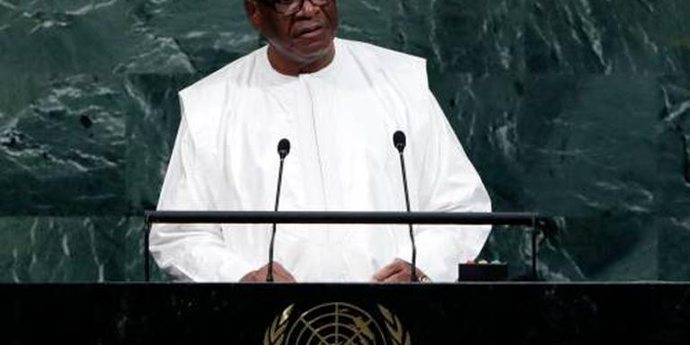 President Mali gaat voor tweede termijn