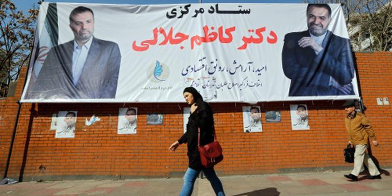 Iran naar de stembus