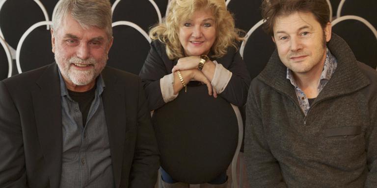 Griet, Minze en Piter in Fljimsk