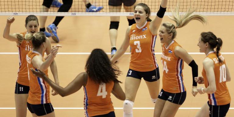 Brons voor volleybalsters in Bangkok