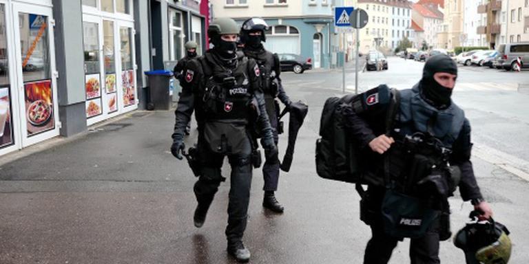 Grote actie tegen extremisten in Duitsland