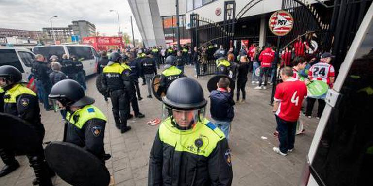 Zeventien arrestaties tijdens kampioensfeest