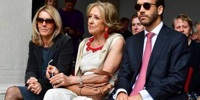 Máxima's moeder aanwezig bij Prinsjesdag