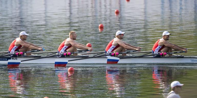 Zeventien Russische roeiers afgekeurd voor Rio