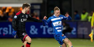 Beeld van januari dit jaar. Heerenveen verloor met 5-2 van PEC.