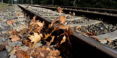 Problemen op spoor verwacht door herfstweer