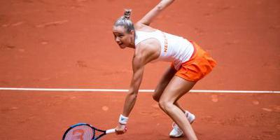 Tennisster Rus naar tweede ronde in Boedapest