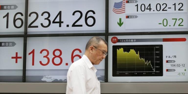 Nikkei boekt stevig verlies