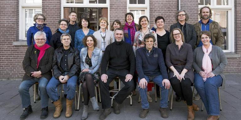 Het docententeam van Kunstacademie Friesland.
