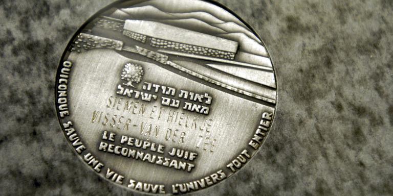 Gedenksteen voor helpers Joodse familie