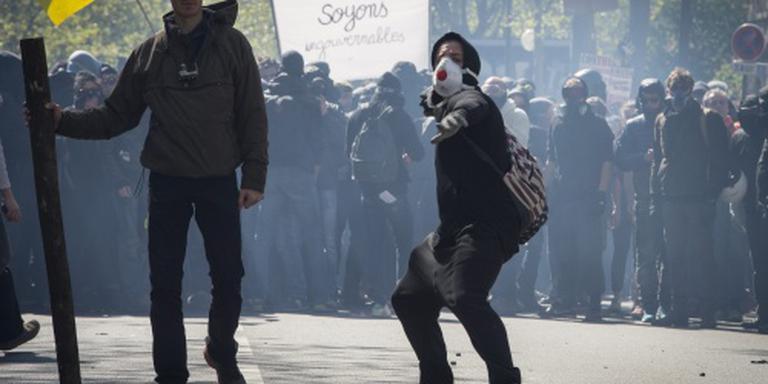 Confrontaties in Parijs tijdens 1 mei-viering