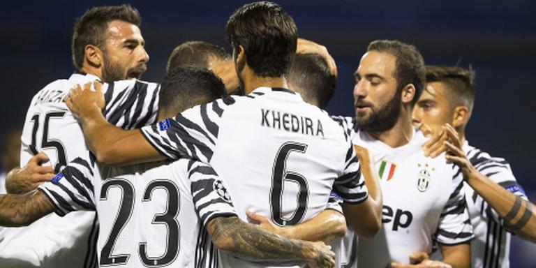 Juventus weet tegen Zagreb wel te scoren