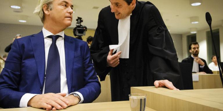 Onderzoek strafzaak Geert Wilders gaat door