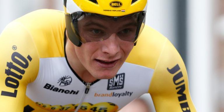 Hofland vijfde in massaspurt Ronde van Polen