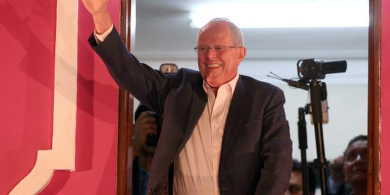 Kuczynski wint presidentsverkiezing Peru