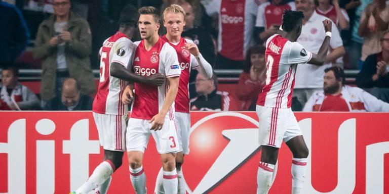 Ajax verslaat Standard Luik