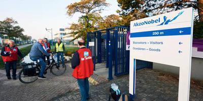 Vakbonden verrast door plannen AkzoNobel