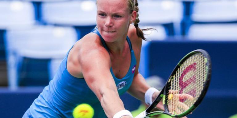 Bertens begint als nummer 22 aan US Open