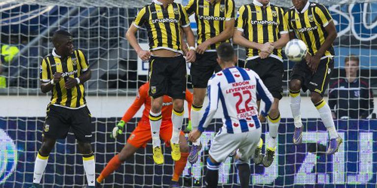Vitesse en Heerenveen scoren niet