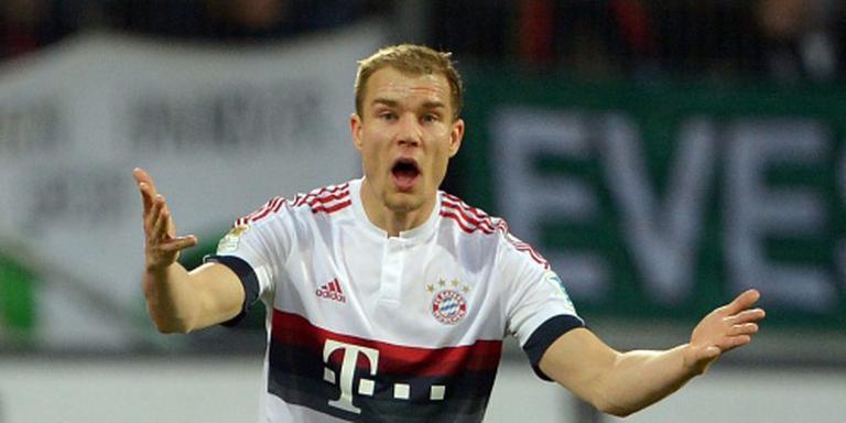 Rentree Badstuber bij Bayern