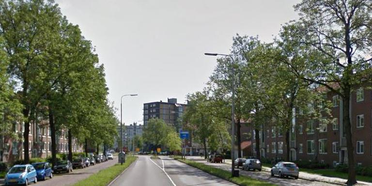 De Valeriusstraat richting het Europaplein.