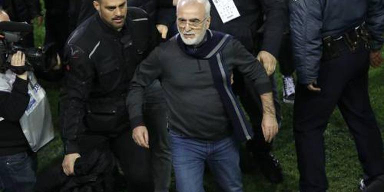 Voorzitter PAOK mogelijk vijf jaar geschorst
