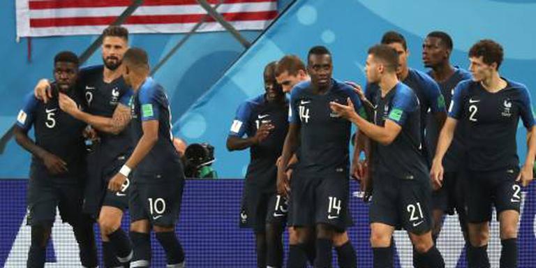 Frankrijk ten koste van België naar WK-finale