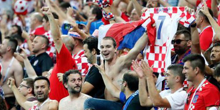 Minder kijkers voor Kroatië - Engeland