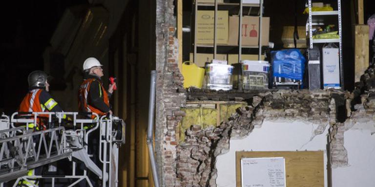 Geen slachtoffers ingestort pand Den Bosch