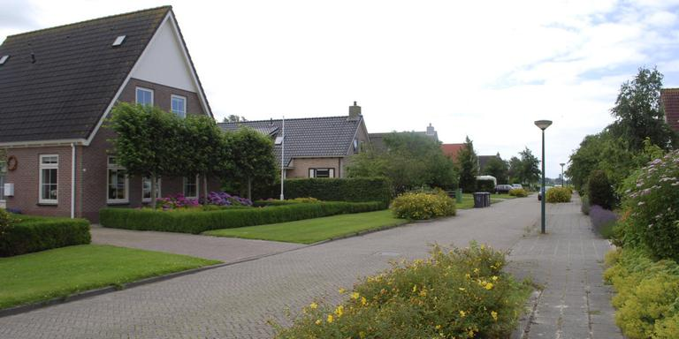 Mooie voortuinen bevorderen de waarde van de woning, het straatbeeld en het imago van het dorp. Hier een beeld uit Burgwerd. FOTO HIEKE JOOSTEMA