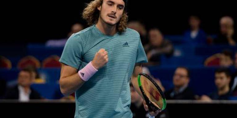 Tsitsipas bekomen van tennisles van Nadal