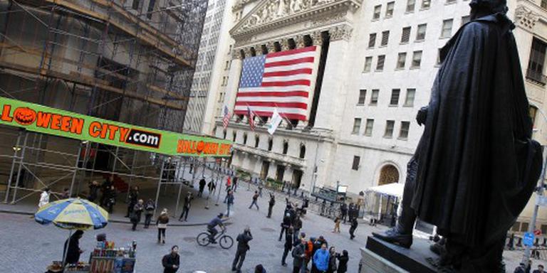 Rode cijfers op beurzen New York