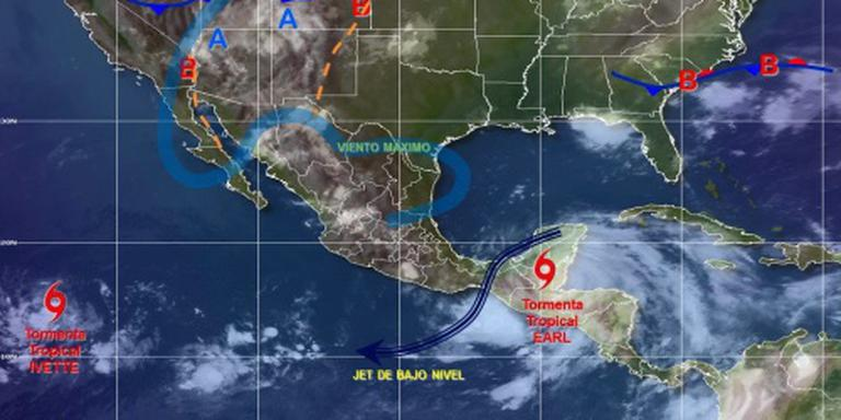 Doden door aardverschuivingen in Mexico