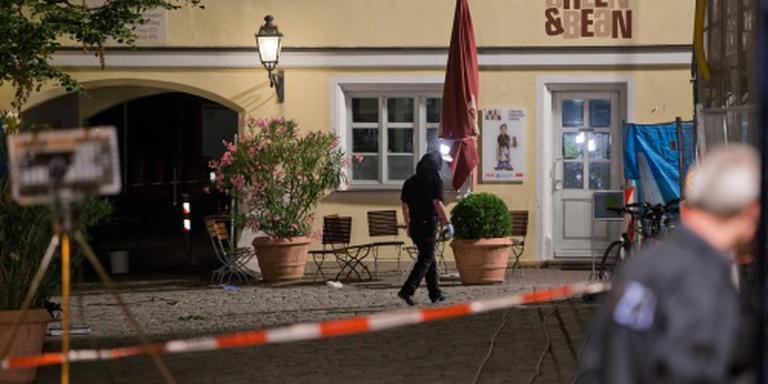Vijftien gewonden na bomaanslag Ansbach
