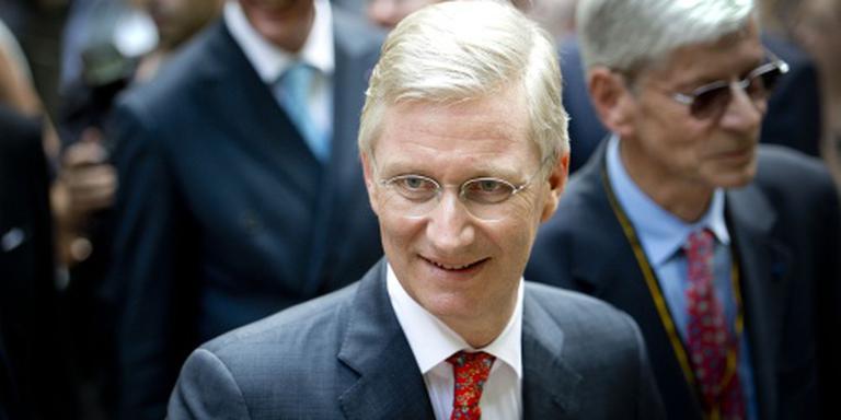Belgische koning spreekt volk toe