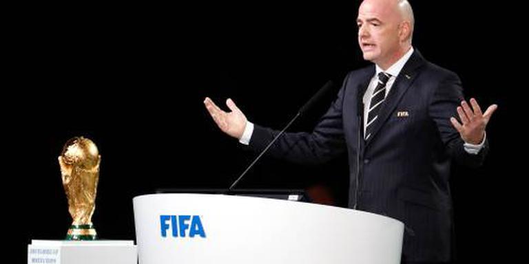 FIFA houdt verlies beperkt tot 160 miljoen