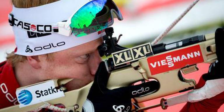 Noorse biatleet Bø pakt goud op 20 kilometer