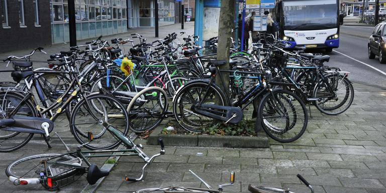 Fietschaos K.R. Poststraat aangepakt