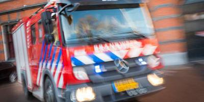 'Lastige brand' bij bedrijf in Stolwijk