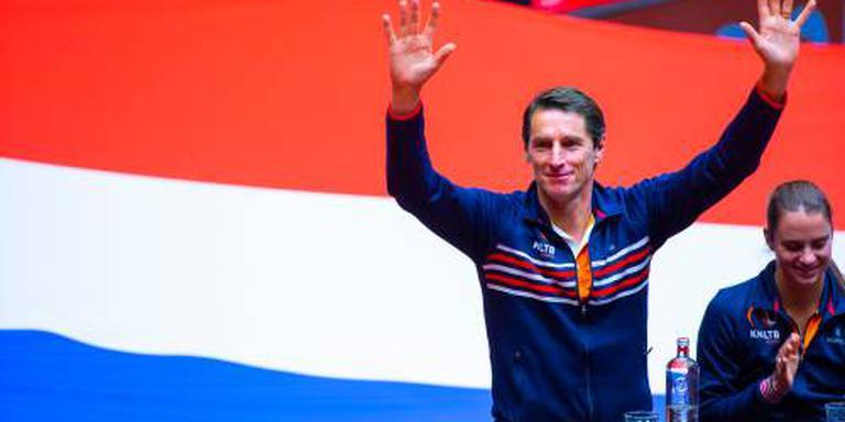 Nederlandse tennissters tegen Japan