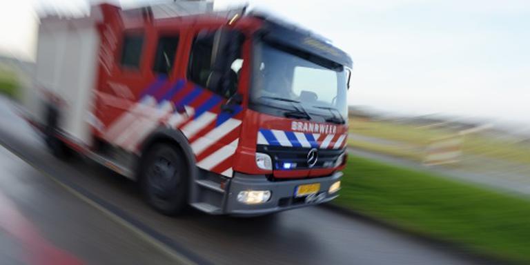 Brandweerlieden gewond door explosie Schiedam