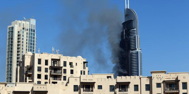 Brand in luxehotel Dubai is onder controle