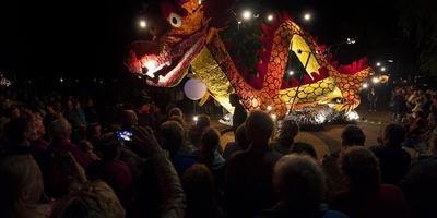 De Gondelvaart op Wielen, vrijdag- en zaterdagavond in Drogeham. FOTO ARCHIEF LC