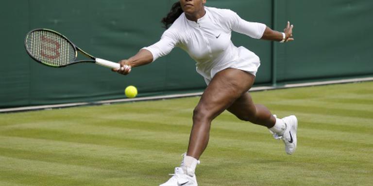 Titelverdedigster Williams verslaat Zwitserse