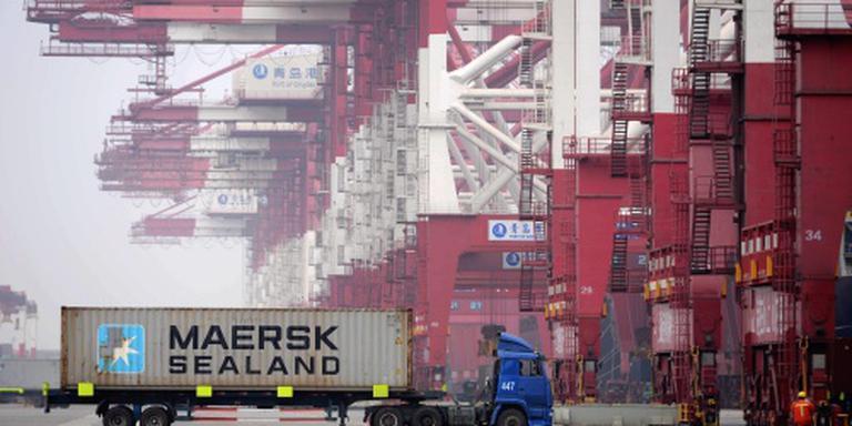 Harde winstval voor Maersk