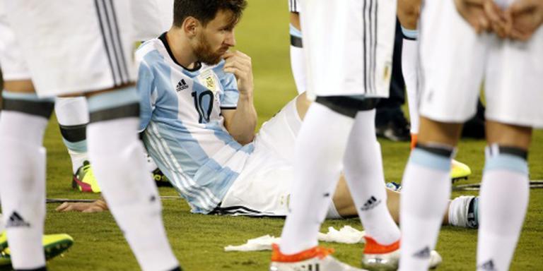 'Messi wil toch voor nationale ploeg spelen'