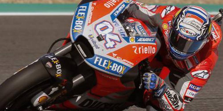 Motorcoureur Dovizioso langer bij Ducati