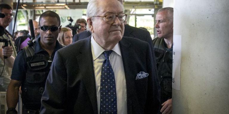 Boete Le Pen voor uitspraak over gaskamers