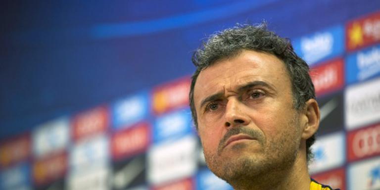 Luis Enrique coach van het jaar